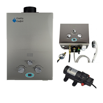 Southern Cross Camping for Country Comfort the best camping hot water system