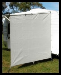Privacy Screen End Wall (Caravan)