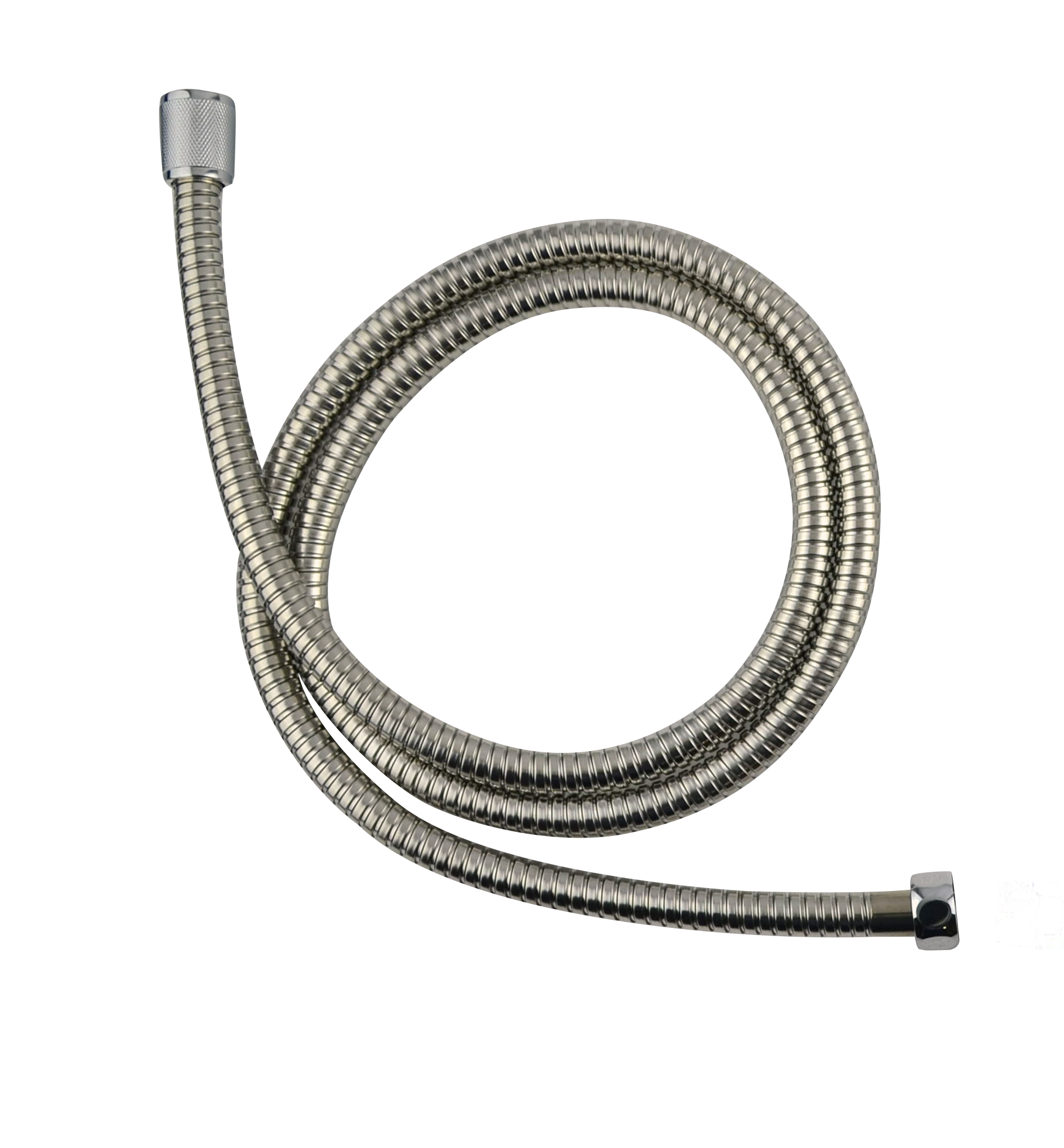 Outback hot water 1.5m chrome hose