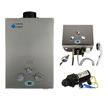 Southern Cross Camping Country Comfort Hot Water System / Country Comfort Shower