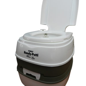 Stimex handy potti portable camp toilet from southern cross camping