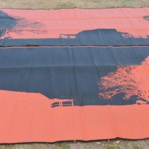 Outdoor camping mat homestead design